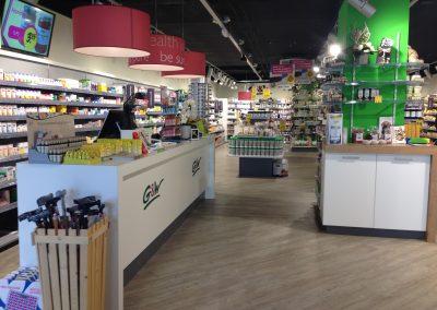 Nieuwe winkelinrichting G&W Tervo