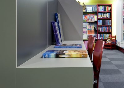 Interieurinrichting boekhandel Rutgers