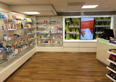 Apotheekinrichting Medsen apotheek Bierhaalder in Baarn