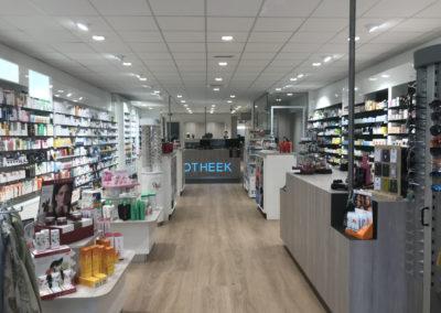 Inrichting apotheek en parfumeriewinkel Ouddorp