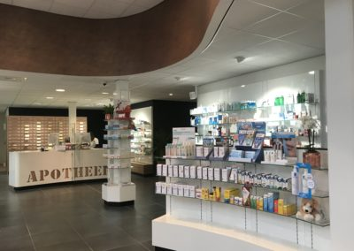 Interstore interieurbouw, apothekersinrichting, interieurinrichting