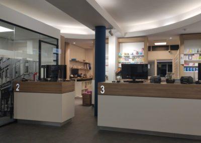 Apotheek Pluymaeckers, interieurinrichting, winkelinterieurbouw, apothekerswinkelinrichting, Interstorebv, Interstore interieurbouw