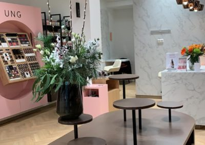 Mapeau, schoonheids & gezondheidswinkel, nterieurinrichting, winkelinterieurbouw, Interstorebv, Interstore interieurbouw